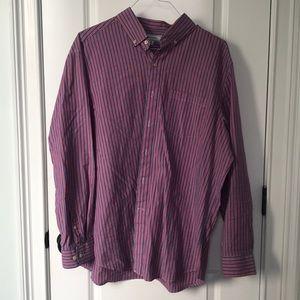 Men's Crown & Ivy button shirt, excellent cond